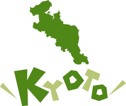 Map of Kyoto Prefecture ☆ KYOTO ☆ English icon