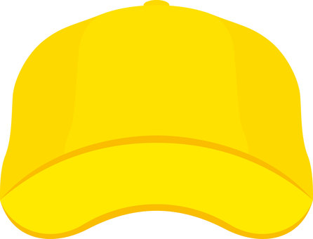 Cap hat yellow