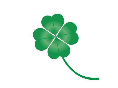 Four leaf clover (gradation)