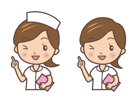 Nurse nurse's pose