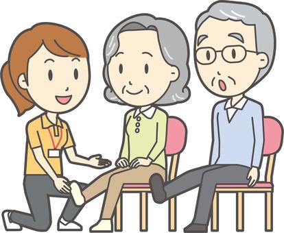 高齢者の生活-006-セット