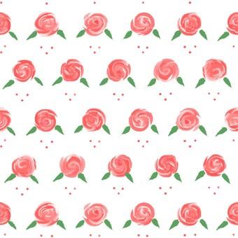 Seamless pink roses