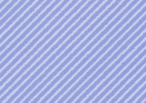 Naname striped blue