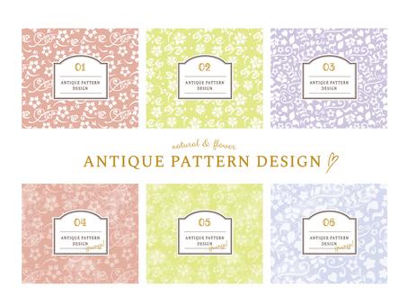 Antique pattern set
