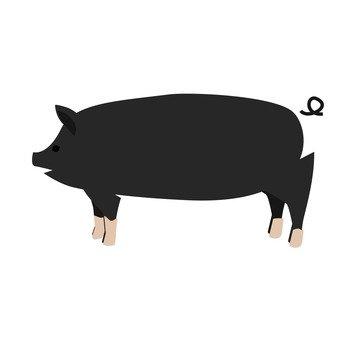 Meat - pig (black)