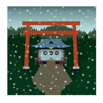 Winter shrine