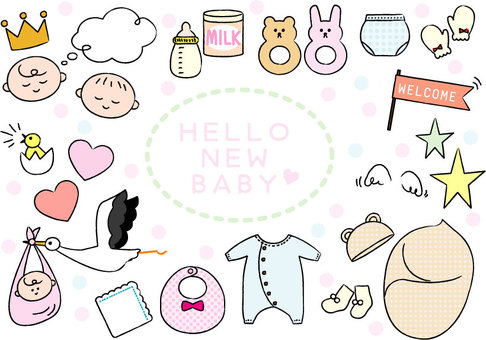 Baby set _ 01 color