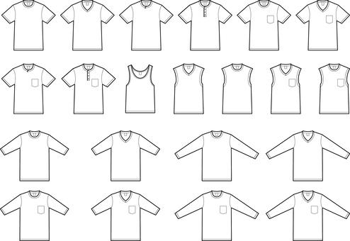 T-shirt variation set