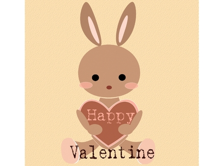 Usagi and Valentine ♪