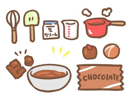 Chocolate making set