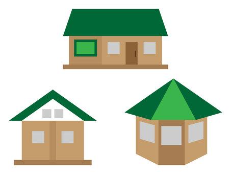 House set (green)