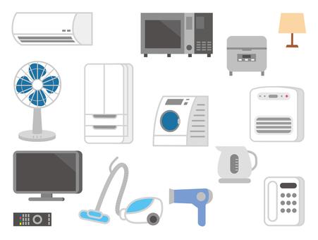 Home appliances material set