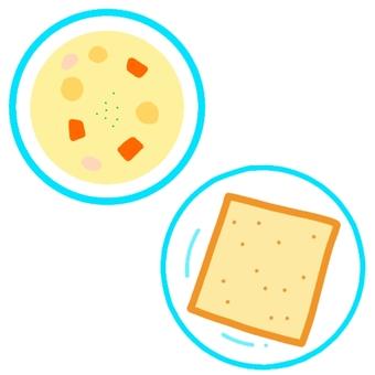 스튜와 식빵