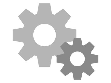 Setting icon · Gear