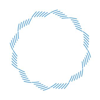 Circular material - 112