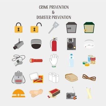Disaster prevention and disaster goods