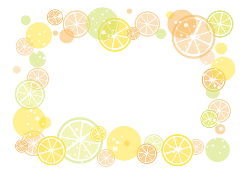 Simple Citrus Frame 02
