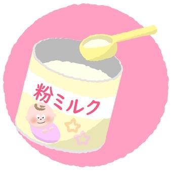 用勺杯奶粉