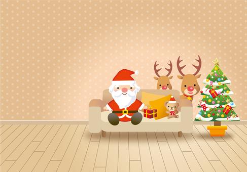 산타가 집에