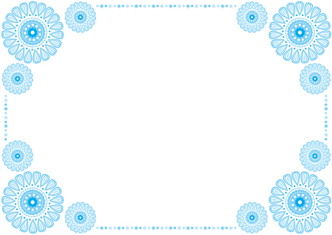 Frame - Pretty Hua - Blue
