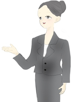 Female employee
