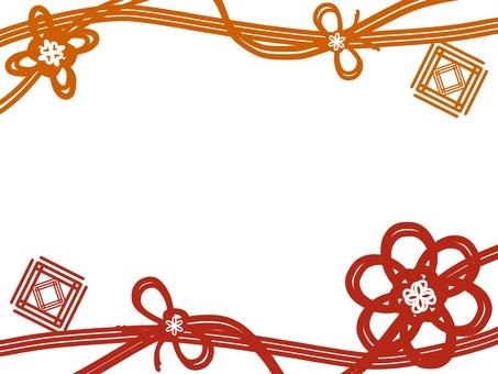 Japanese style frame (braided image)