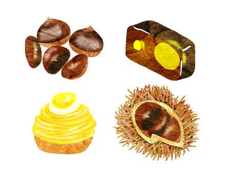 Chestnut set