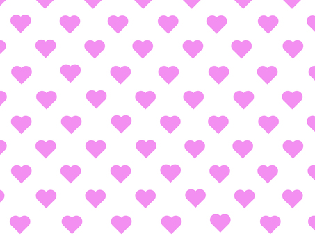 Heart pattern (white pink)