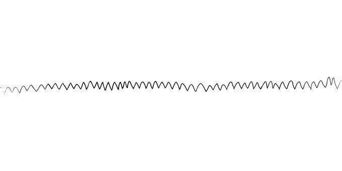 Zigzag line - line