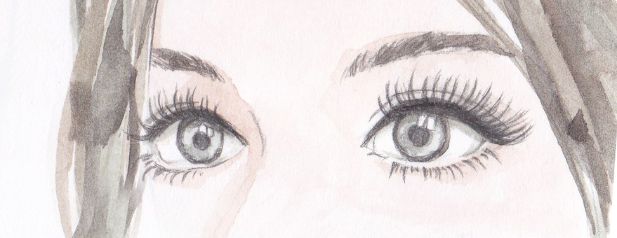 Eyes Female illustration gaze