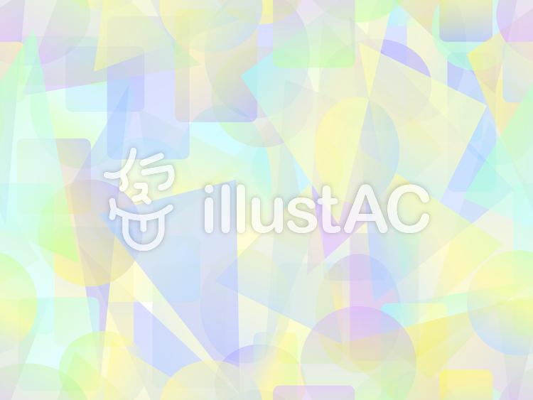 パステル調のカラフルな短形パターン2c