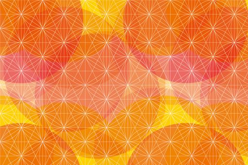 수화 무늬 색종이 견본 시리즈 7