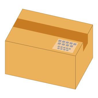 Cardboard box (Image of baggage)