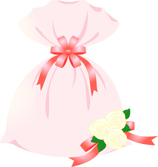 Gift bag (pink)