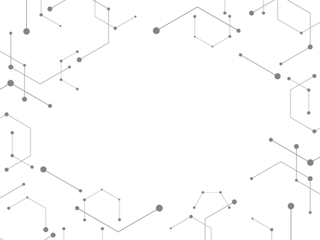 幾何学的な背景 フレーム グレー
