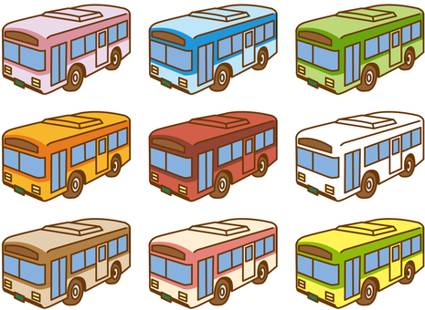 Bus 05 each color