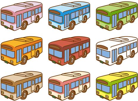 Bus 05 each color