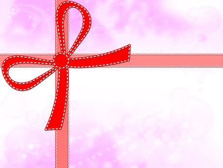 Frame with ribbon 01
