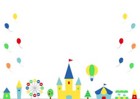 Amusement park balloon