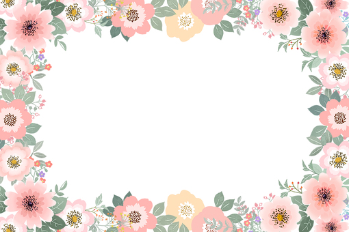 花  フレーム