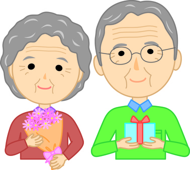 Elderly couple 4