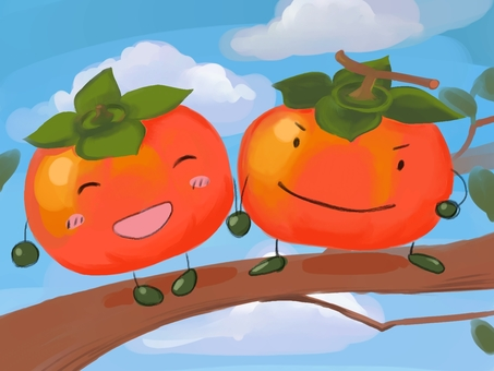 Persimmon and persimmon