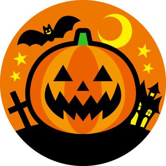 Halloween _ one point _ 02 _ orange