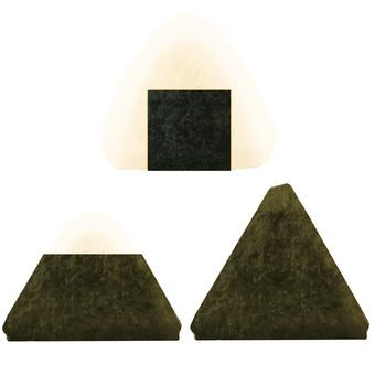Onigiri set (crisp nori)