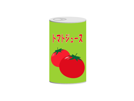 Illustration material of tomato juice