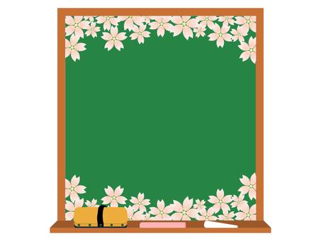 黑板櫻花樹3