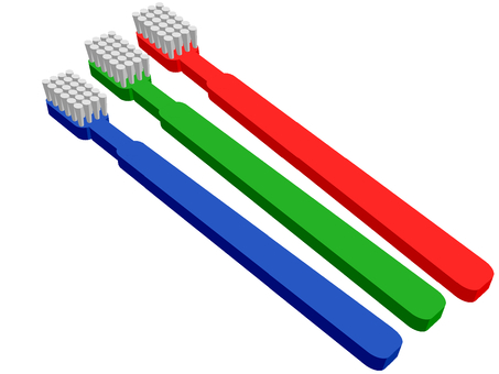 Toothbrush (three)