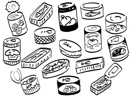 Canned set