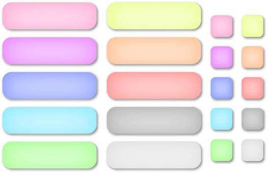 Banner and button pastel set