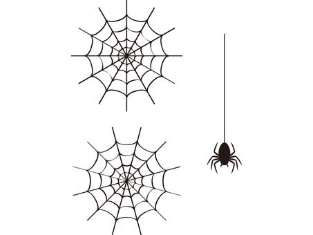 Halloween spider's nest
